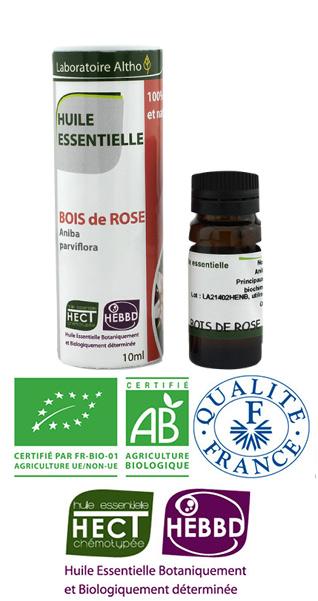 bois de rose huile essentielle bio ch motyp e laboratoire altho parfumerie boutique de. Black Bedroom Furniture Sets. Home Design Ideas