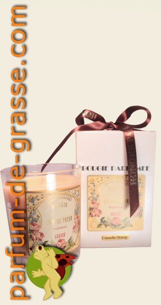 cannelle orange bougie artisanale parfum e de grasse parfumerie boutique de vente en ligne. Black Bedroom Furniture Sets. Home Design Ideas