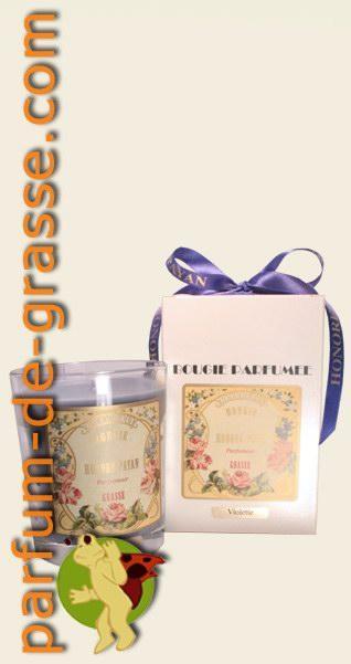 violette bougie artisanale parfum e de grasse parfumerie boutique de vente en ligne parfum. Black Bedroom Furniture Sets. Home Design Ideas